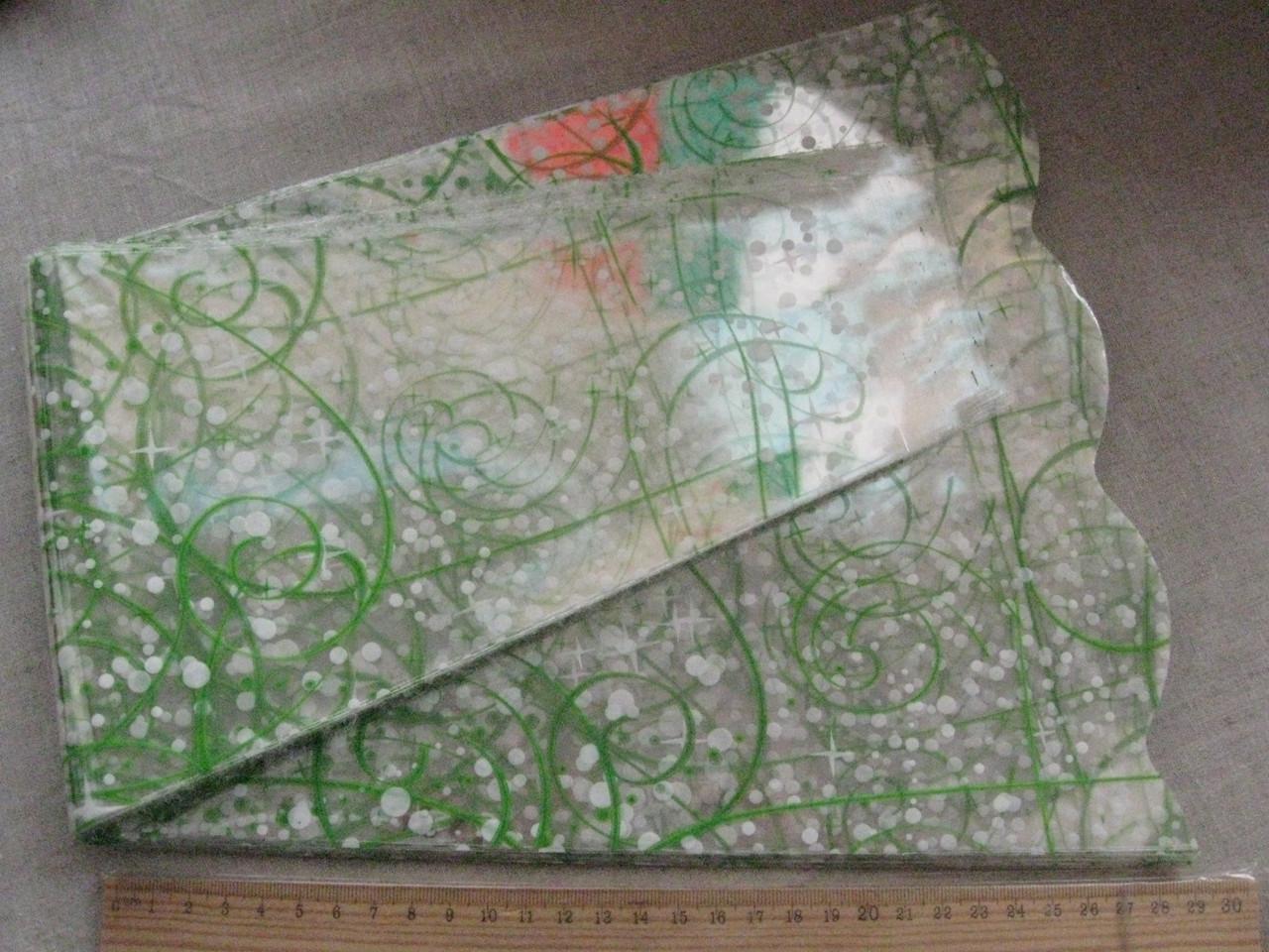 Пакет для букета цветов целлофановый, конус с рисунком 6 х 28 х  60 см. 50 шт