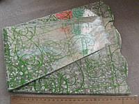Пакет для букета цветов целлофановый, конус с рисунком 6 х 28 х  60 см. 50 шт, фото 1
