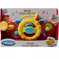 Развивающая игрушка Playgro Музыкальный руль (0184477)