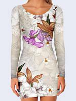 Платье Цветущие лилии