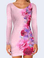 Платье Цветущие пионы