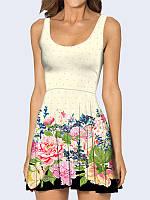 Платье Цветочная лужайка