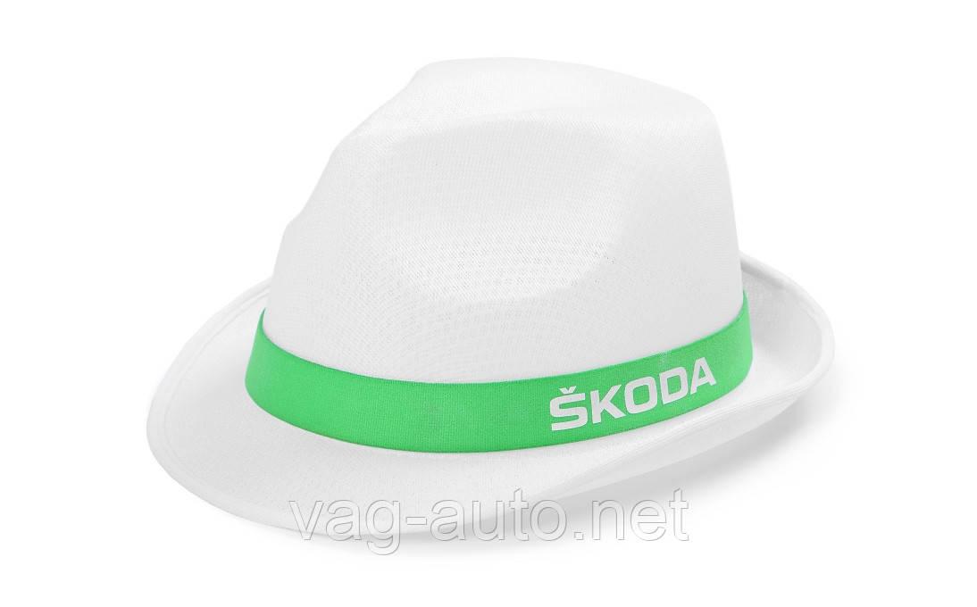 Кепка Skoda белая