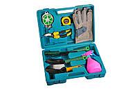 Набор садовых инструментов (9 предметов), инструменты для работы в саду
