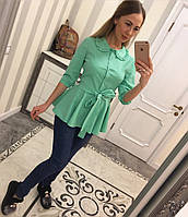 Красивая рубашка с коротким рукавом, фото 1