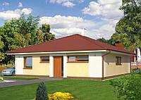 Проект дачного  дома Hd52