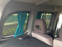 Автошторы. Шторки на микроавтобус Peugeot Partner  - Пежо партнер зеленые
