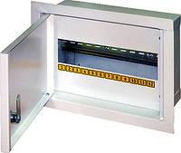 Шкаф распределительный e.mbox.stand.w.12.z под 12 мод. встраиваемый с замком, фото 1