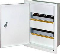 Шкаф распределительный e.mbox.stand.w.24.z под 24 мод. встраиваемый с замком, фото 1