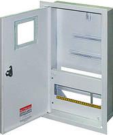 Шкаф распределительный e.mbox.stand.w.f3.12.z под трехфазный счетчик+ 12 мод. встраиваемый замком