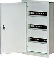 Шкаф распределительный e.mbox.stand.w.36.z под 36 мод. встраиваемый с замком, фото 1