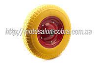 """Колесо   4,00 -8   TL   (бескамерное, под ось d-20мм )   """"MRHD""""   (желтое)"""