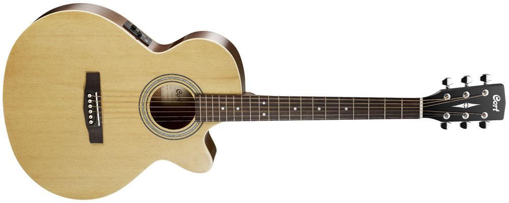 Акустическая гитара c датчиком Cort  SFX ME NAT