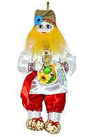 """Кукла-оберег """"Афоня"""", 38 см красный"""