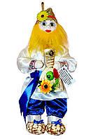 """Кукла-оберег """"Афоня"""", 38 см синий"""