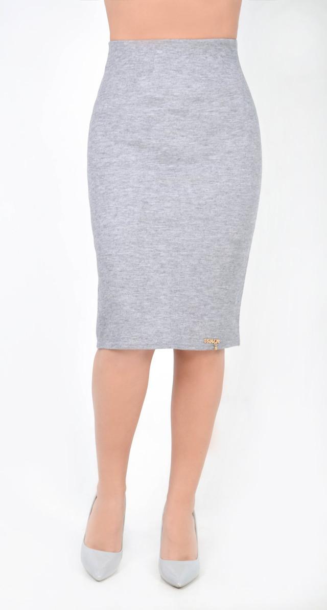 Женская юбка из итальянского трикотажа - резинка