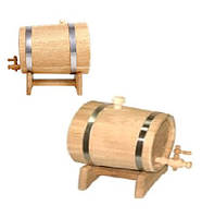 Жбан для вина дуб на подставке с краном 80 л.