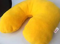 Подушка под шею Желтый