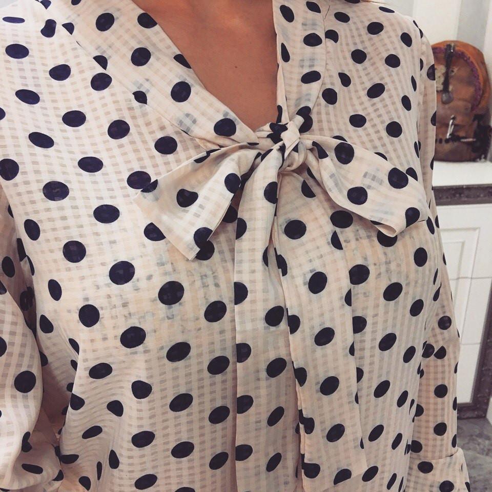 36cecfb97c0 Шифоновая блузка с бантом  продажа