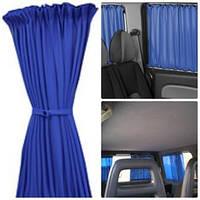 Автошторы. Шторки на микроавтобус Renault Kangoo  - Рено Канго синие