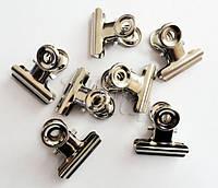 Прищепка для зажима ногтей (для создания арки) металлическая, маленькая, 1 шт.