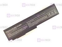 Аккумуляторная батарея для Asus M50 series, 5200mAh, 10,8-11,1V