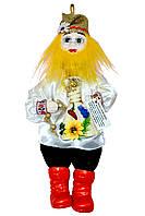 """Кукла-оберег """"Домовой Ивашка"""", 39 см белый"""