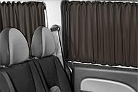 Автошторы. Шторки на микроавтобус Renault Kangoo  - Рено Канго черные
