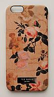 Чехол на Айфон 6/6s Ted Baker soft touch приятный Пластик Розы, фото 1