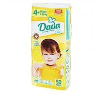Подгузники Dada Extra Soft Maxi+ 4+ (9-20 кг) - 50 шт.