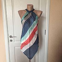Майка женская футболка летняя цветная  Benetton