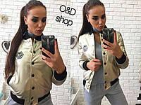 Кожаная женская куртка у-t2701202