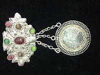 Дукач с бантом  серебро 19 век