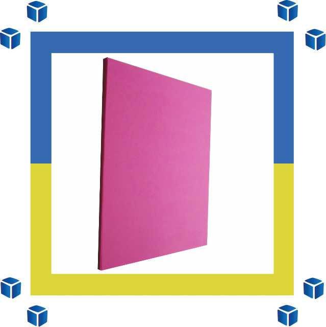 Бумага розовая А4 80 г/м Maestro Color