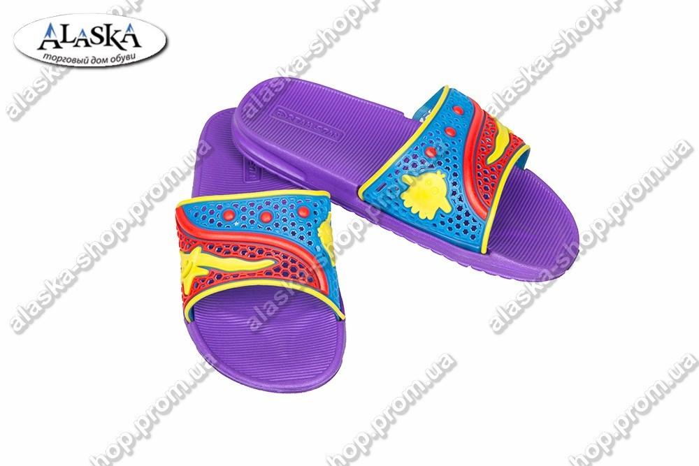 Детские сандалики фиолетовые (Код: ТПД-02)