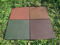Резиновое покрытие Protective covering standard (защитное покрытие стандарт) 500х500х50мм. цвет серый