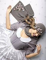 Женская шапка с маленькими незабудками Dianna  от Willi Польша