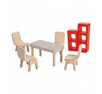 Мебель для кукольного домика Plan Тoys - Столовая