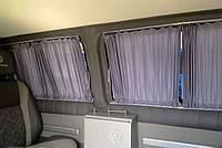 Автошторы. Шторки на микроавтобус  Volkswagen Т-4 серые