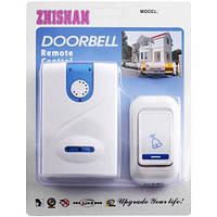 Звонок дверной беспроводной ZHISHAN 666 DС, радиус до 100м, 32 мелодий, 50/60Гц, пластик