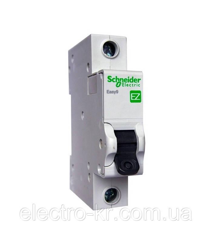 Автоматический выключатель Schneider Electric EASY 9 1П 16А С 4,5кА 230В