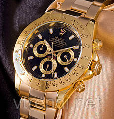Часы в стиле Rolex Daytona ( black )