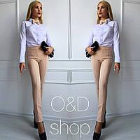 Женские штаны с рельефами у-t2712240