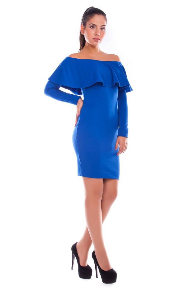 Купить голубое платье