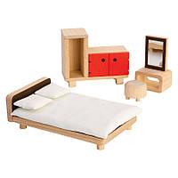 Мебель для кукольного домика Plan Тoys - Спальня