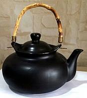 Чайник черный керамика