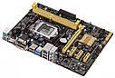 "Материнская плата Asus H81M-PLUS H81 DDR3 s.1150 ""Over-Stock"" Б/У, фото 2"