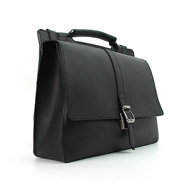 20c737de400a Черная кожаная сумка женская прямоугольная А4 - Интернет магазин сумок  SUMKOFF - женские и мужские сумки