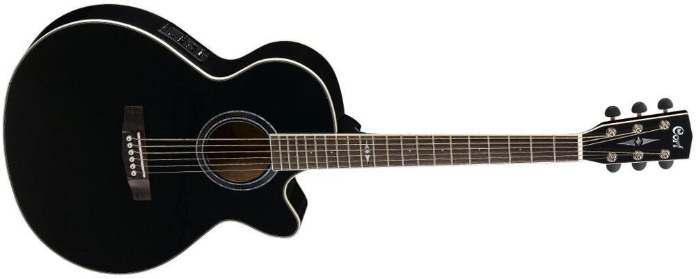 Акустическая гитара c датчиком Cort  SFX5 BK*