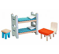 Мебель для кукольного домика Plan Тoys - Детская